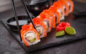 alimentation grossesse sushi