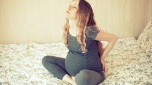 sciatique de femme enceinte